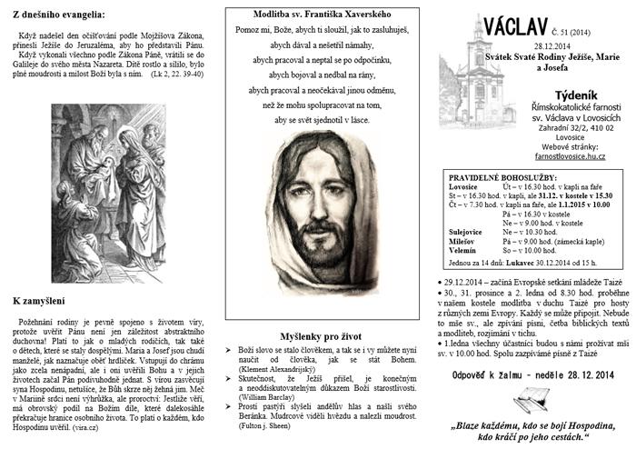 Václav 51. 2014