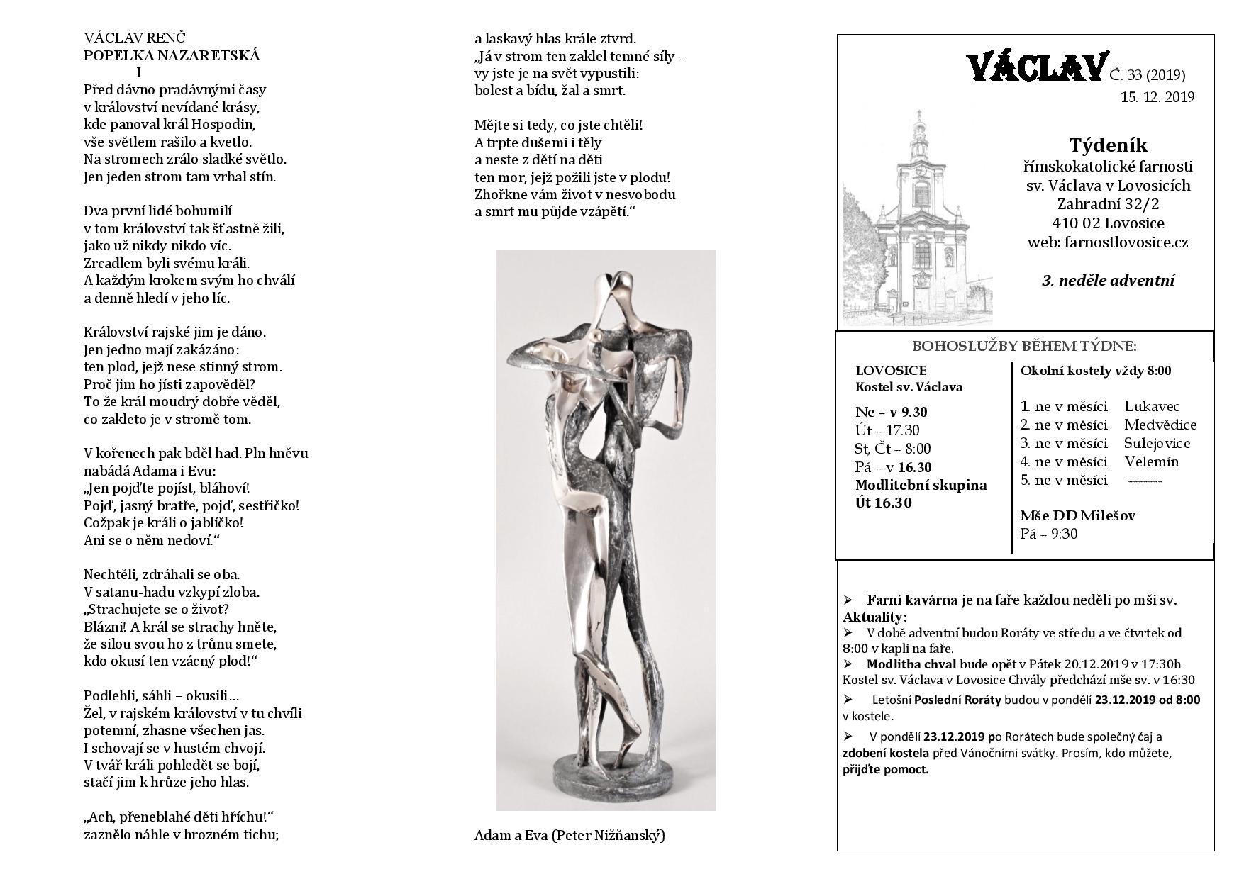 Václav 33.2019