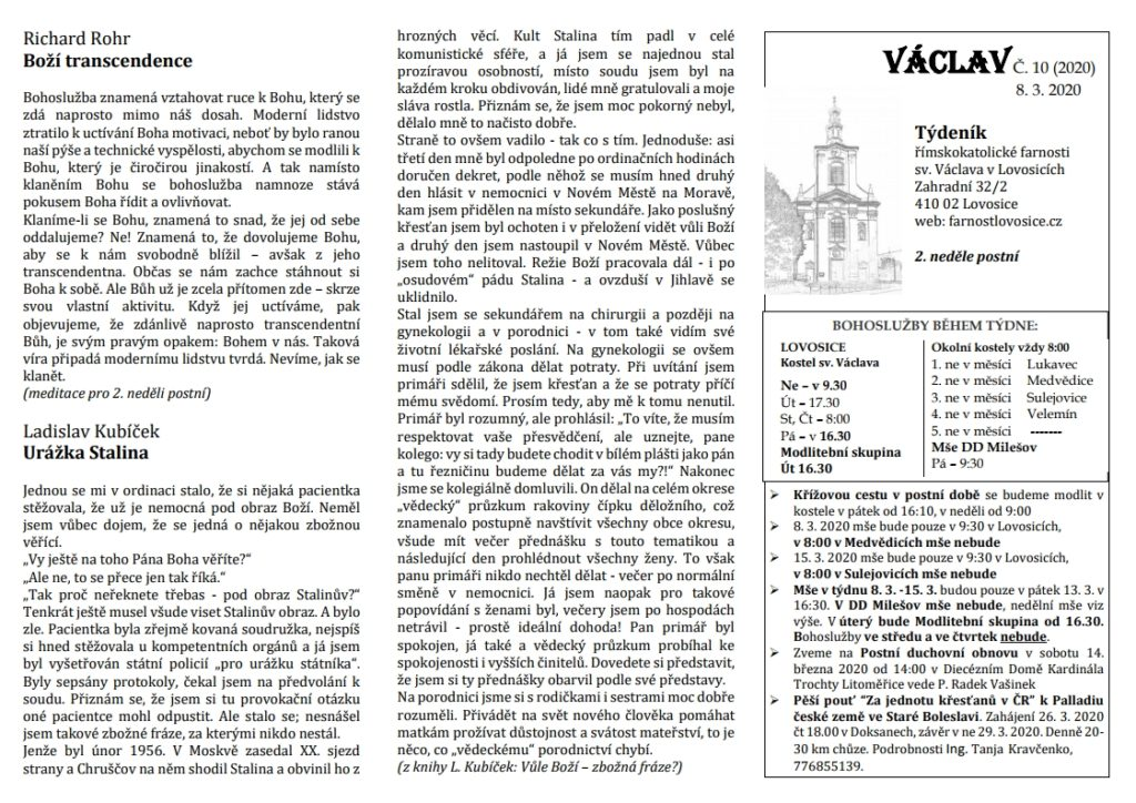 Václav 10.2020