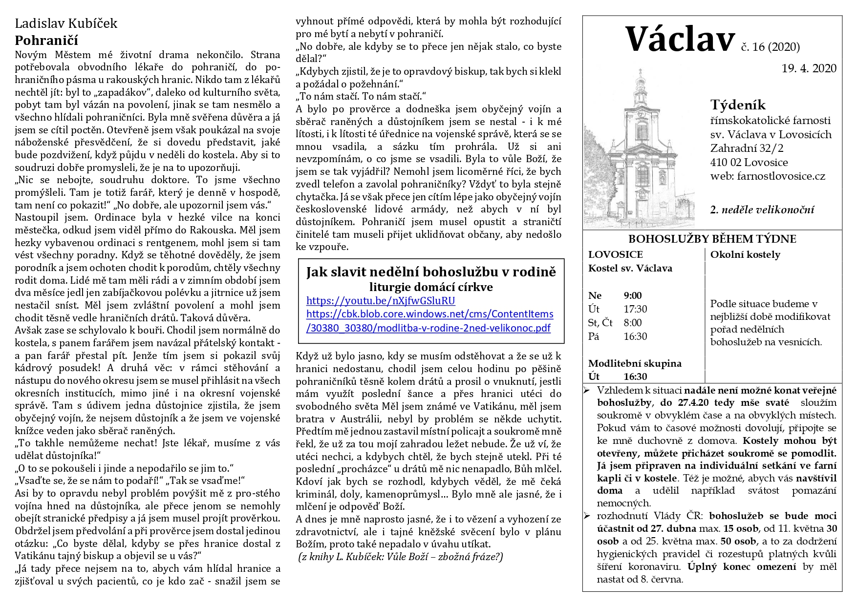 Václav 16.2020