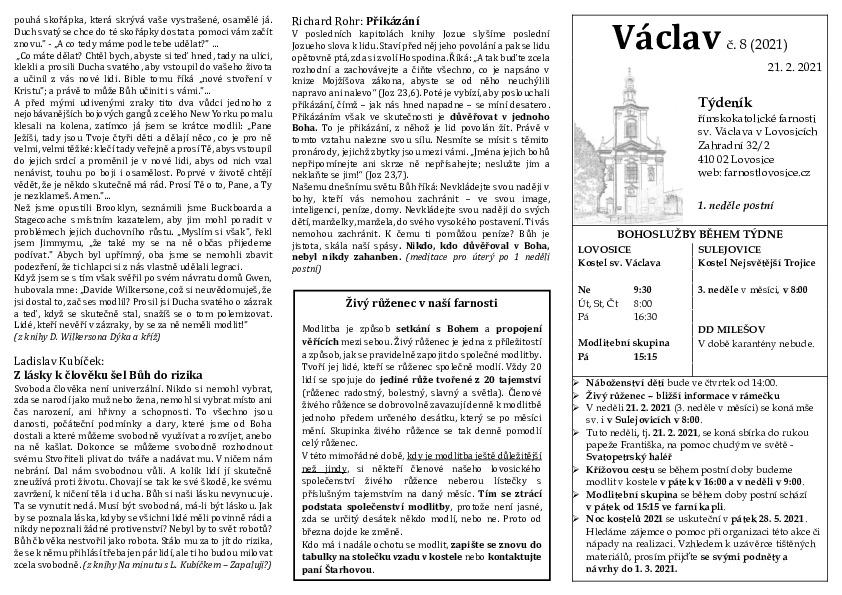 Václav 08.2021