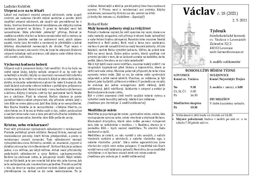 Václav 18.2021