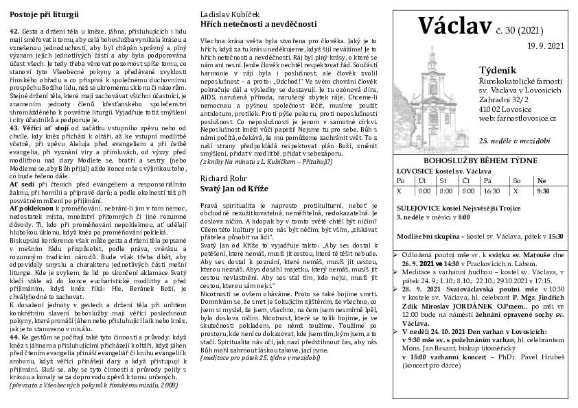 Václav 30.2021