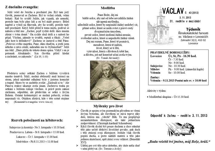 Václav 43. 2013