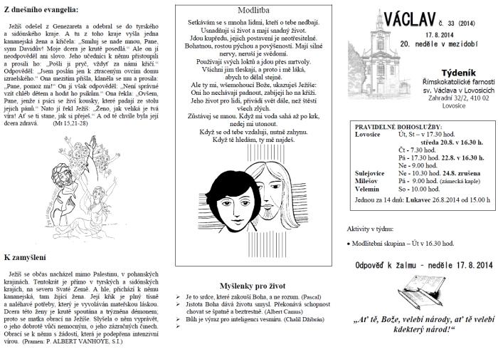 Václav 33. 2014