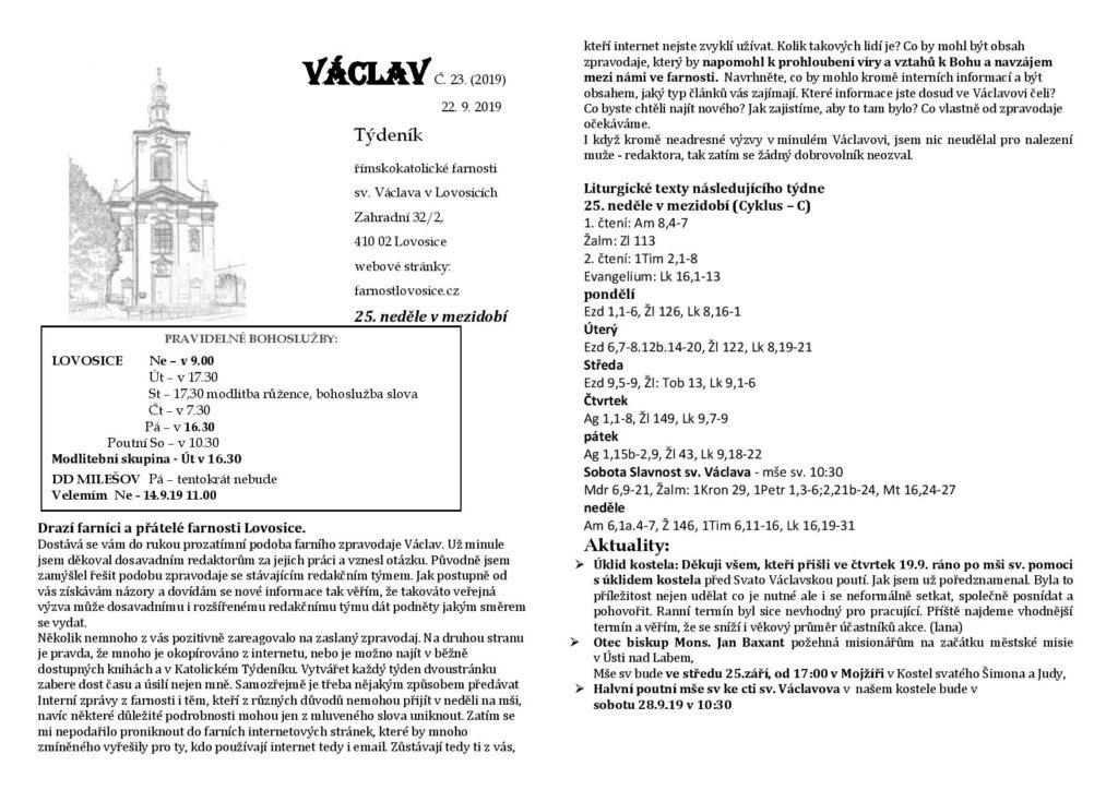 Václav 23.2019