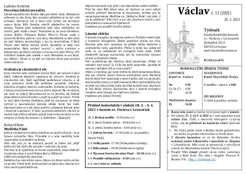 Václav 13.2021
