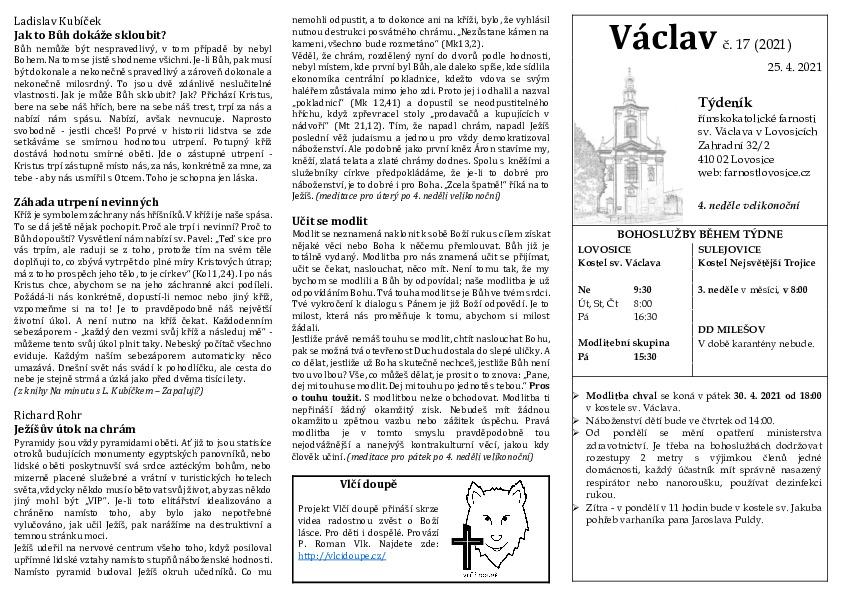 Václav 17.2021