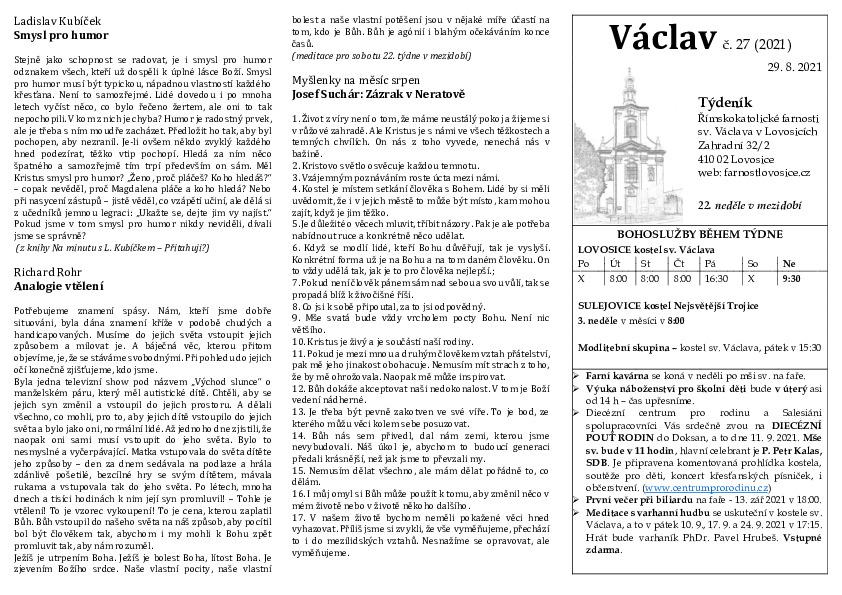 Václav 27.2021